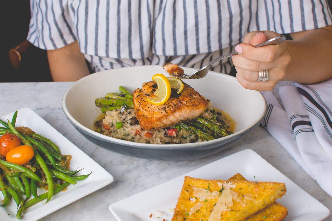 Conseils nutrition Uberti : Le déjeuner et le dîner
