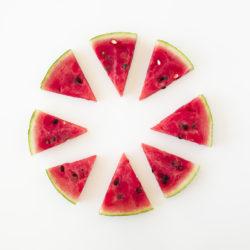 Recette healthy Uberti - Pizza pastèque