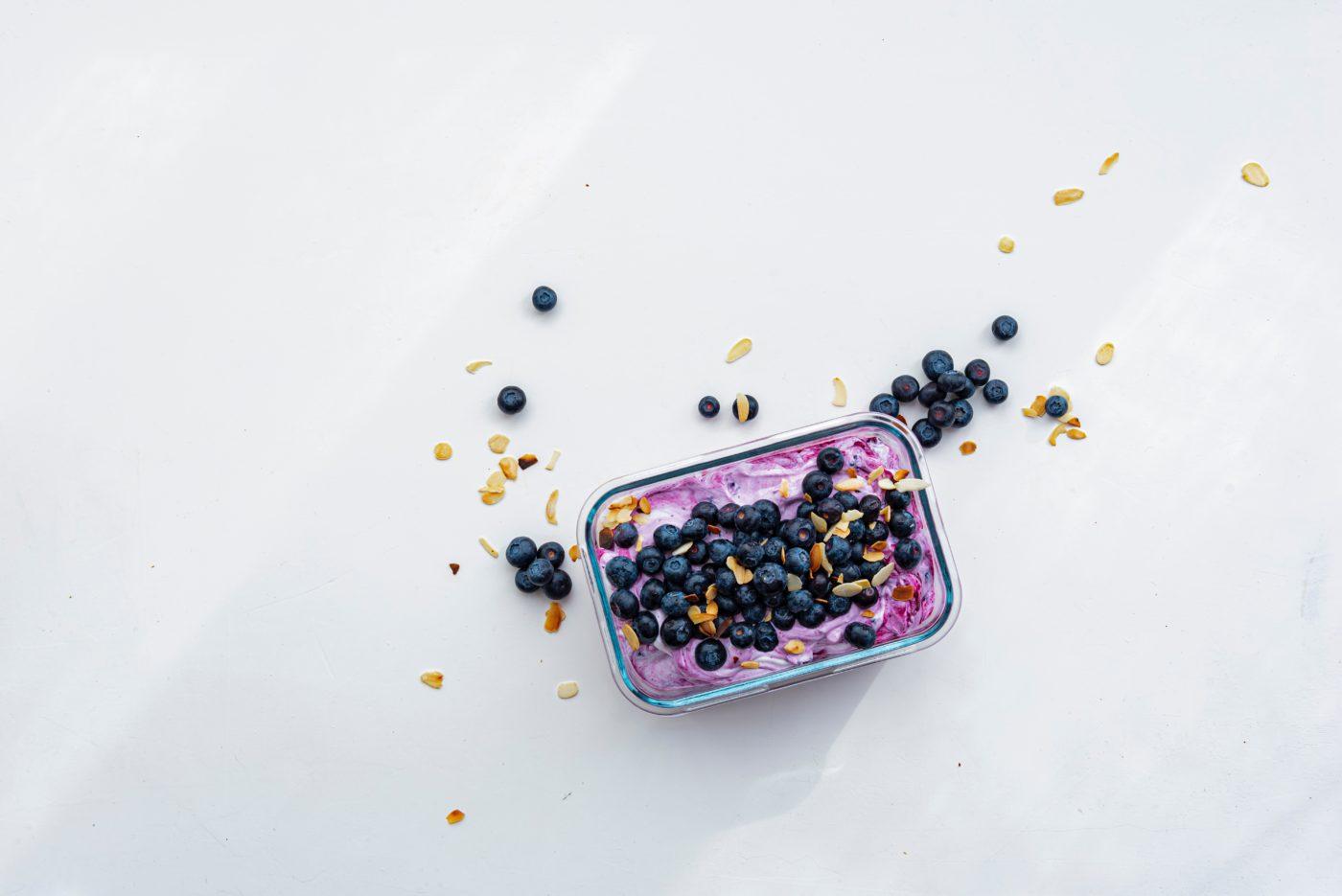 Recette healthy Uberti - Clafoutis aux myrtilles