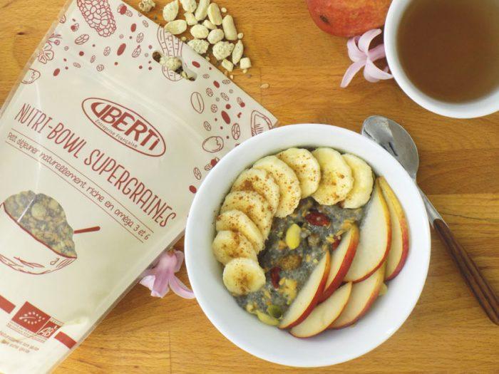 porridge de chia supergraines Uberti