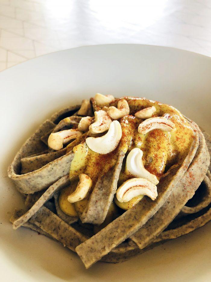 pâtes vegan sans oeufs - recettes healthy Uberti