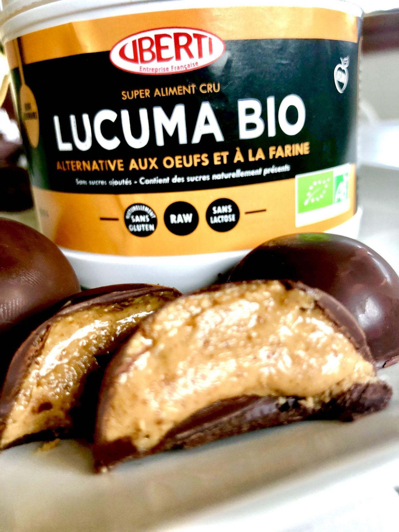 Recette healthy Uberti bouchées gourmandes au lucuma