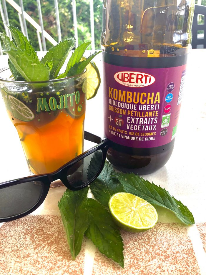 recette healthy cocktail mojitos au kombucha Uberti