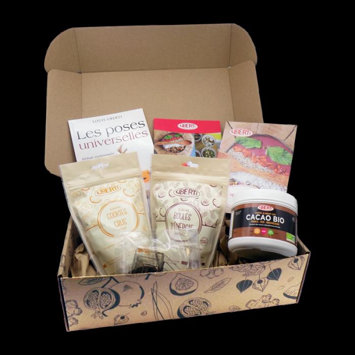 box saines gourmandises Uberti idées cadeaux fêtes noël anniversaire