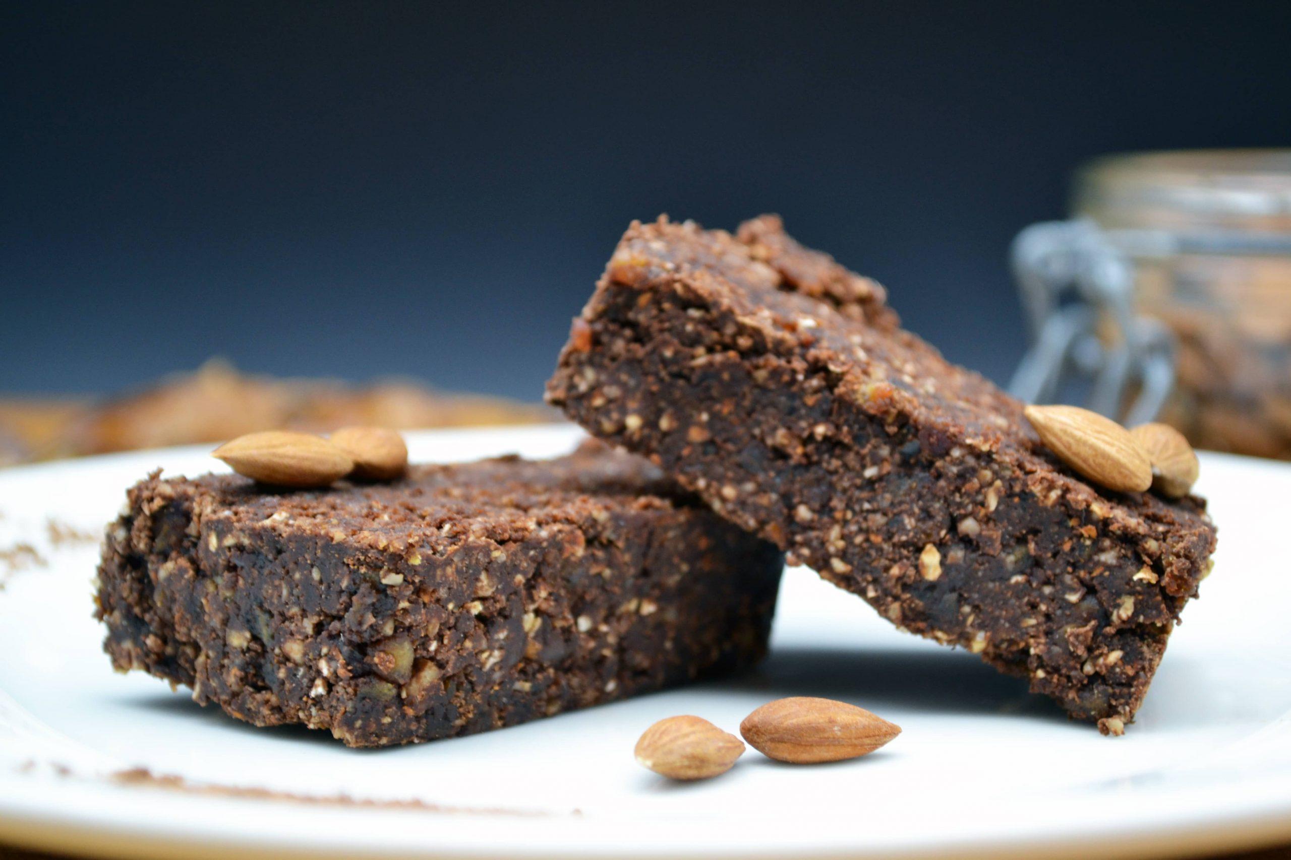 préparation pour pâtisseries végétales et bio pour Brawnie vegan sans cuisson