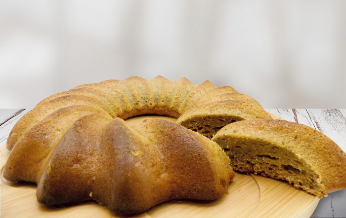 gâteau détox à l'orange recette healthy Uberti
