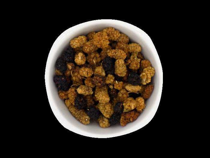 black and white mulberries bio Uberti