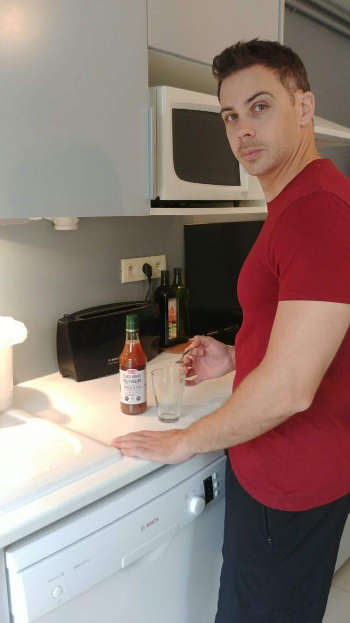 Nicolas_routine matin Uberti Elixir 4 voleurs